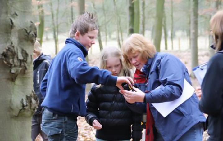 GPS route Schoonloerveld